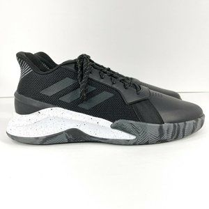 Adidas Own The Game Men's Size 13 Basketball Shoes Black EE9647
